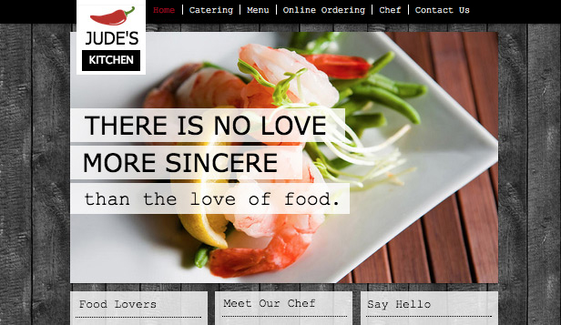 catering-service-website-design