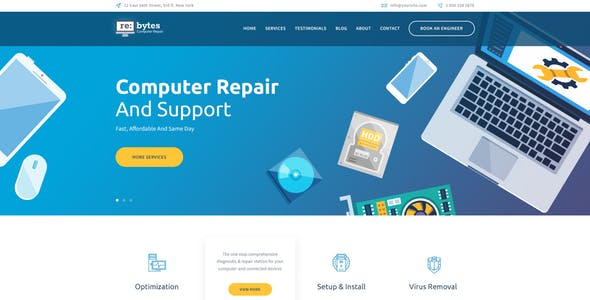computer-laptop-service-center-website-design