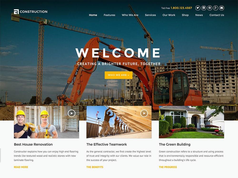 construction-civil-contractor-website-design