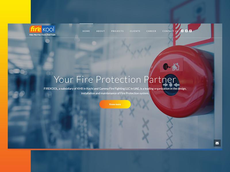 fire_fighting_safety_system_website_design