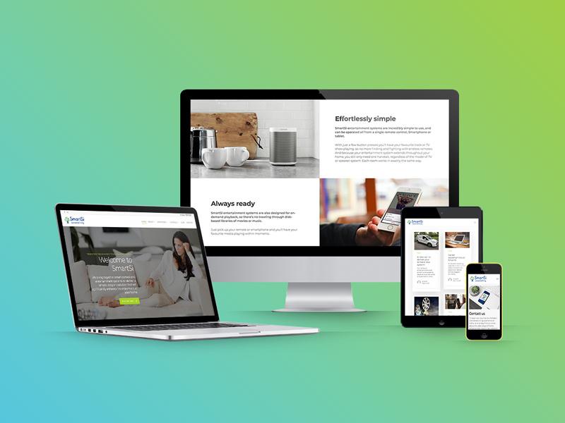 home-automation-website-design