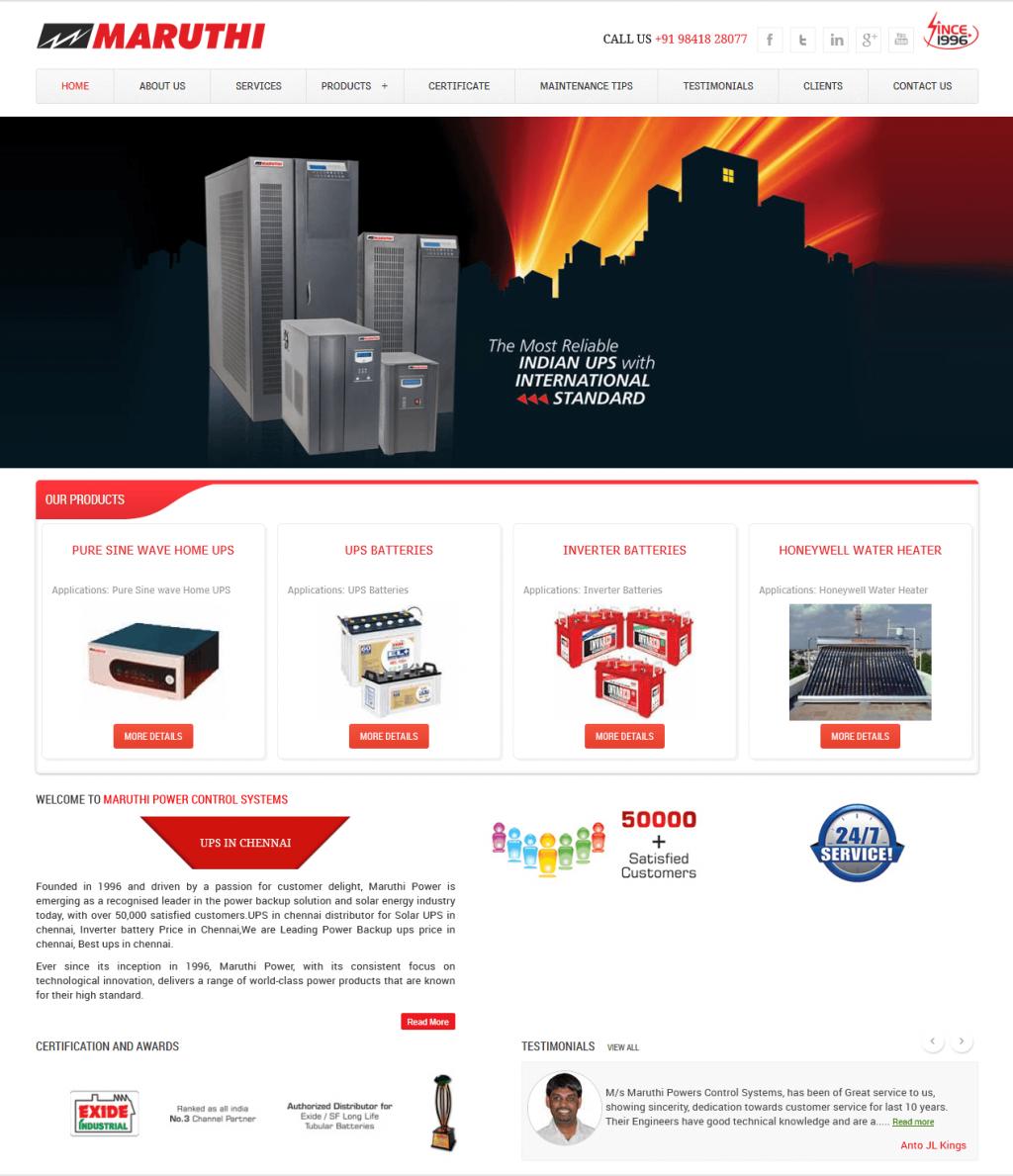inverter-up-battery-website-design
