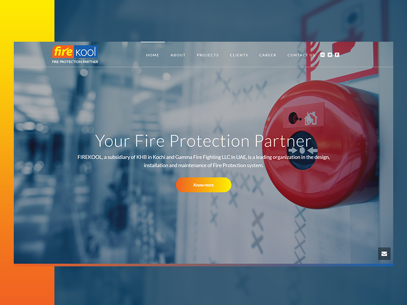 fire_fighting_safety_system_website_design