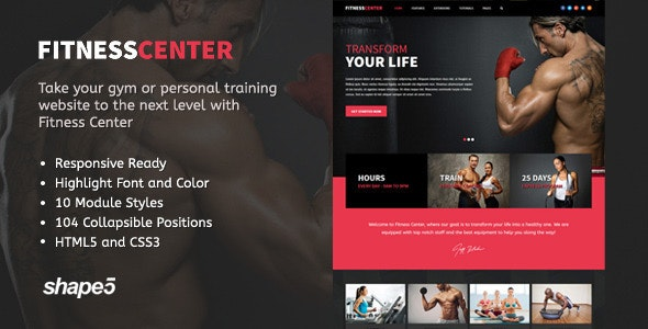 fitness-center-website-design
