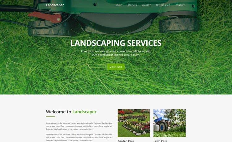 landscape-website-design